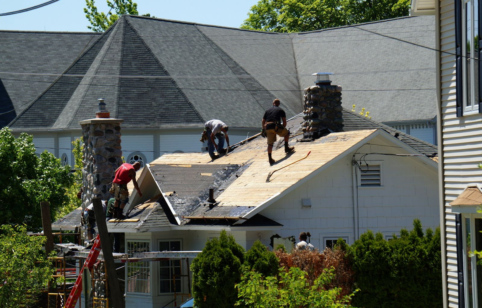 Roof Replacement Service In Charlotte Nc With Rose Roofing
